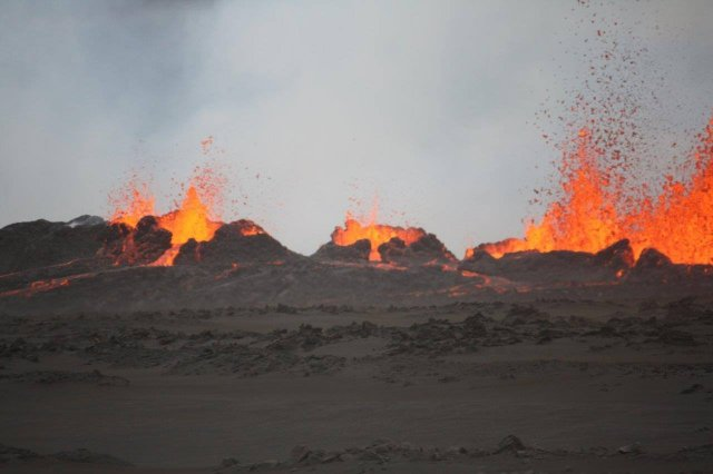 Eruption Photos 08-31-14