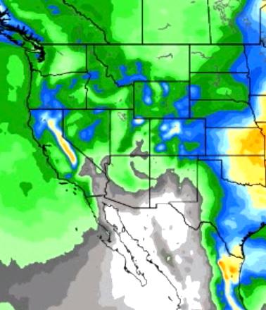CA Rain Forecast